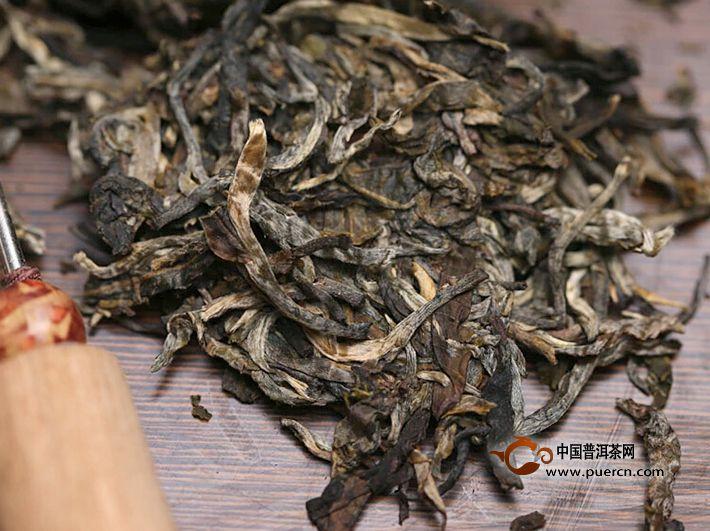 2014年书剑岩胆(生茶)200克
