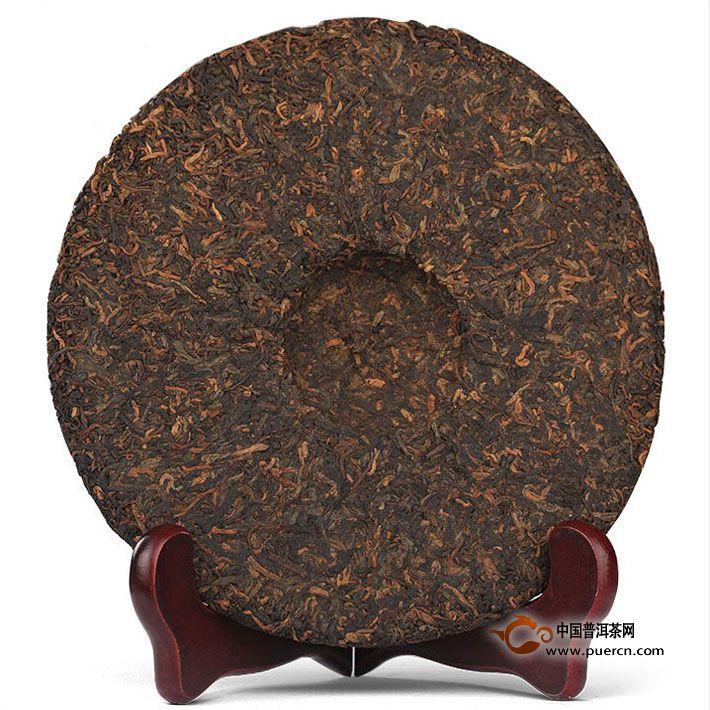 2015年中茶臻品黄印熟茶357克