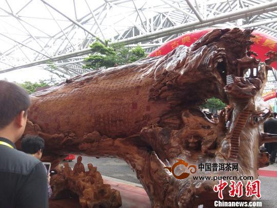 广东中山红木博览会开幕 60名人才同场竞技