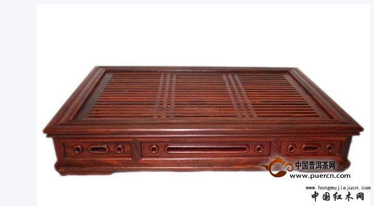 红木茶盘茶具图片