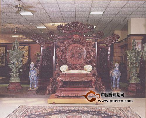 台南家博馆之典藏系列——宝座