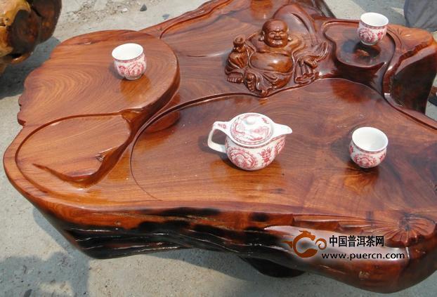 修复木茶盘裂缝的方法