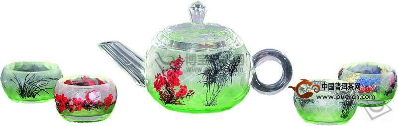 如何鉴别玻璃茶具?