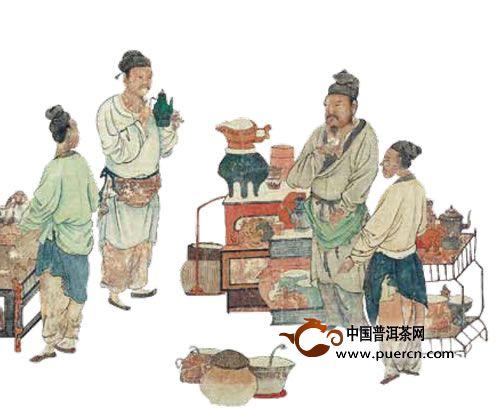 唐代人的茶文化思想如何,唐代人喝茶的习惯,唐代人喝茶所用的器