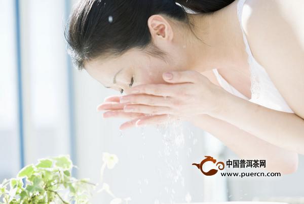 普洱茶可以洗脸吗?