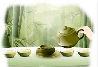 品茶还需一颗平和心