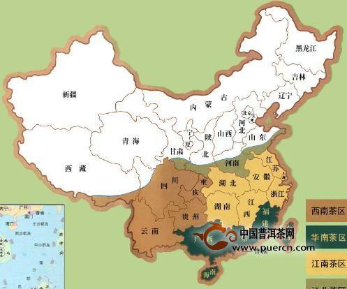 茶叶四大产区