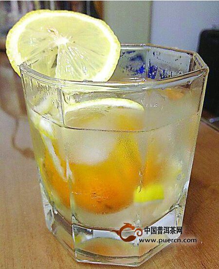天然美白饮品金桔柠檬蜜茶