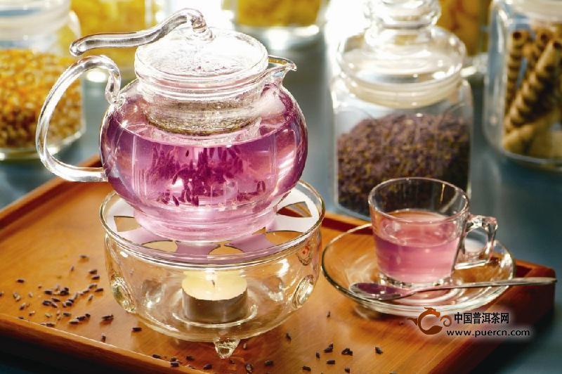 薰衣草茶:白领减压良方