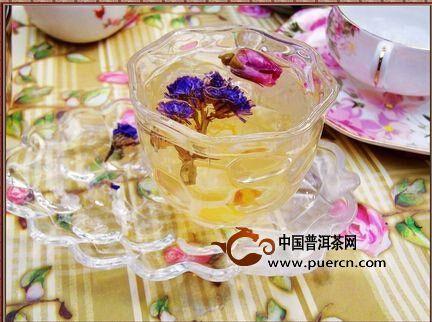 六款可美容养颜的花草茶