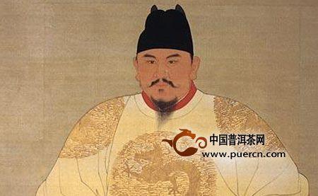 明太祖与灵山茶