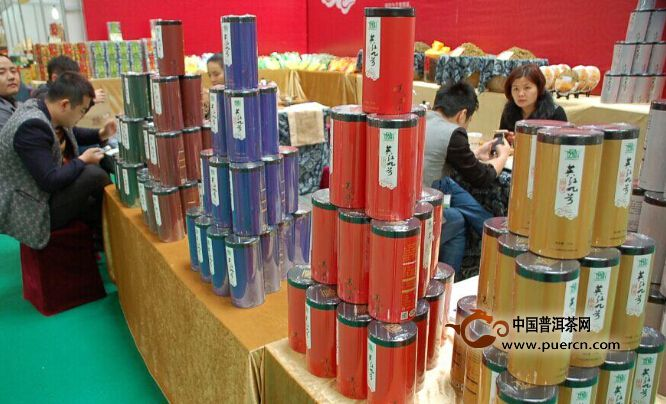 逸景轩茶业亮相佛山第九届茶业博览会