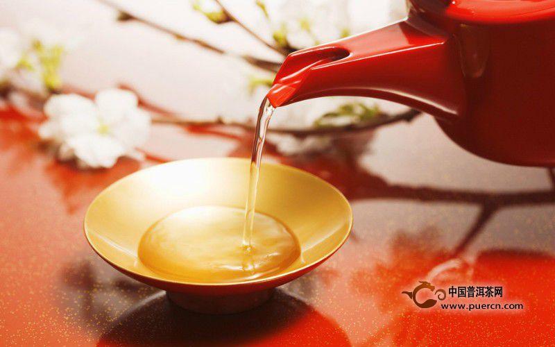 喝纯料普洱茶原因