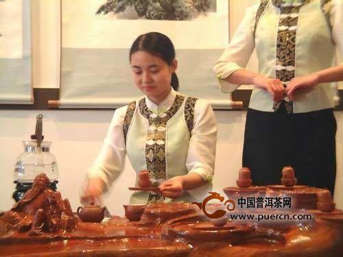 黄山毛峰茶艺表演