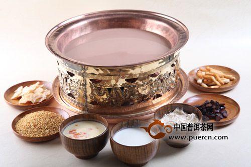 蒙古族的咸奶茶