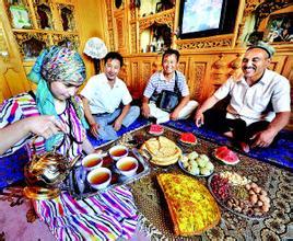 维吾尔族的饮茶文化