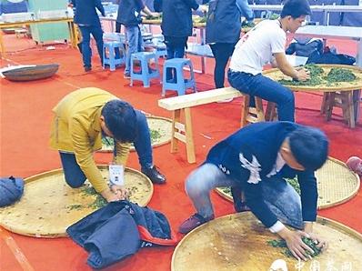 """2015福建省中职生""""天福杯""""手工茶制作技能大赛在漳州举行"""