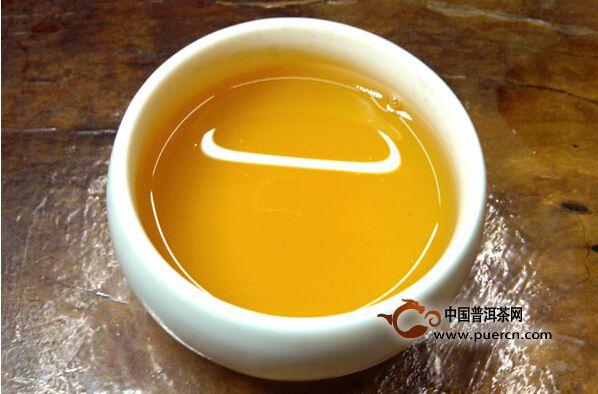 96年紫大益茶汤