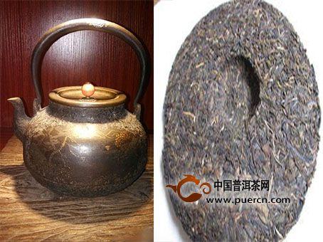 当日本老铁壶遇上普洱茶