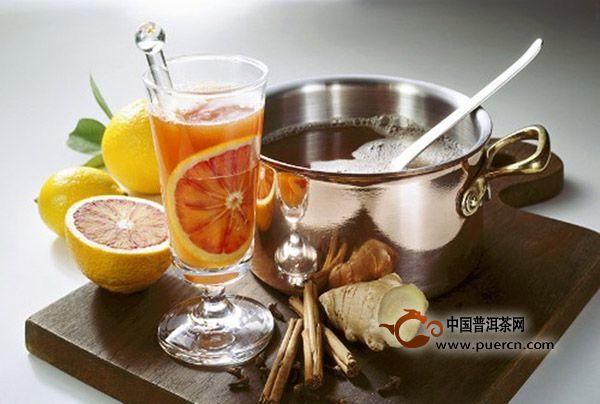 喝生姜红茶减肥