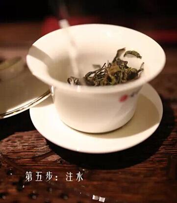 白莺山普洱茶冲泡