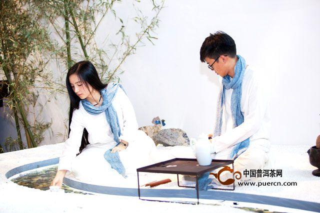 华巨臣深圳春茶博会曲水流觞之约