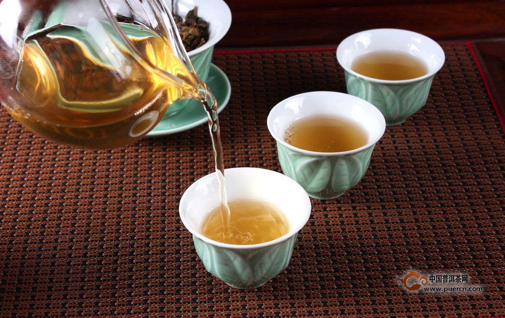 工艺茶冲泡步骤
