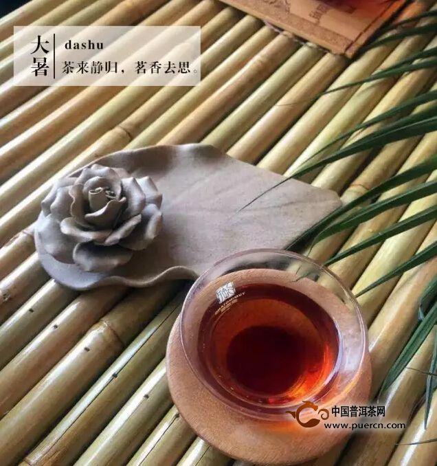 大暑之茶---心静则自然凉