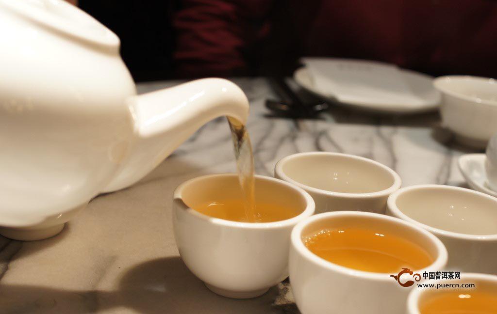 异域饮茶习俗