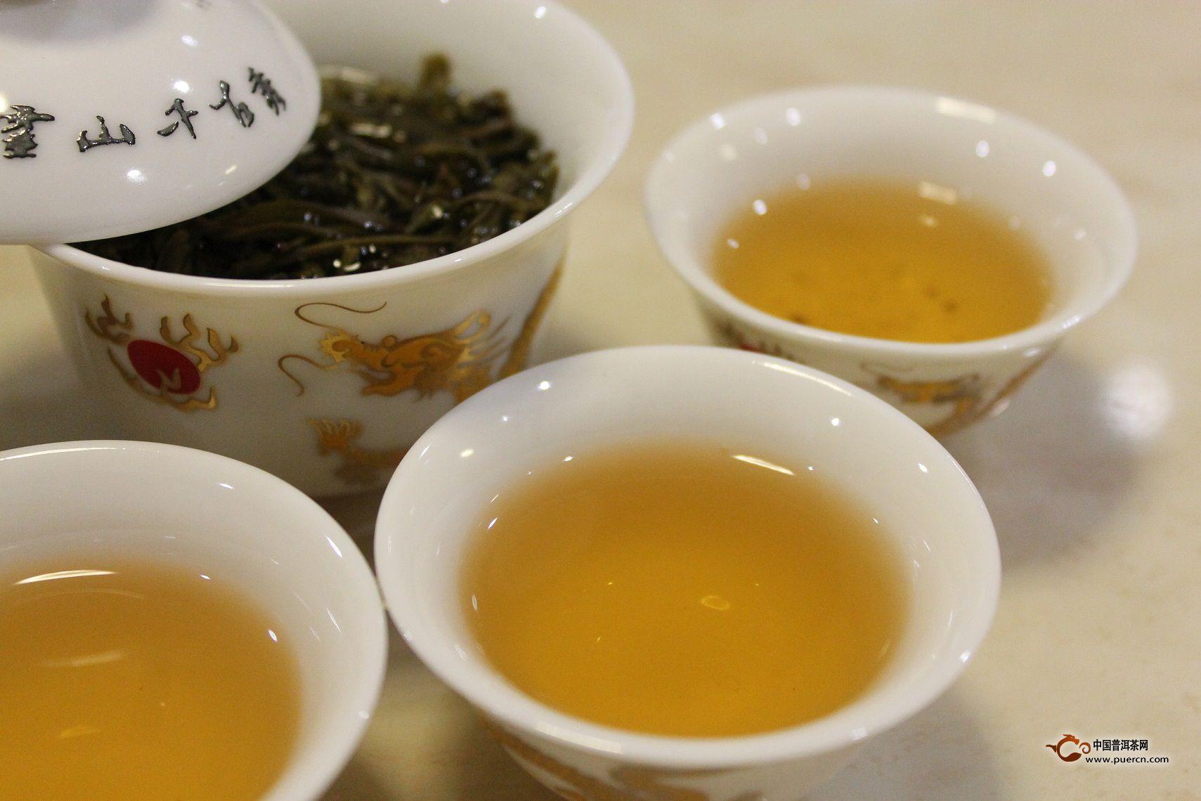 响茶叶茶汤颜色及口感的因素