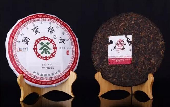 2015年中茶牌圆茶勐蛮传奇(熟茶)即将上市!