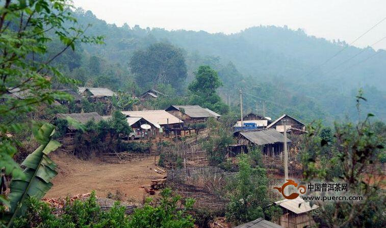 普洱茶村寨之勐腊安乐村