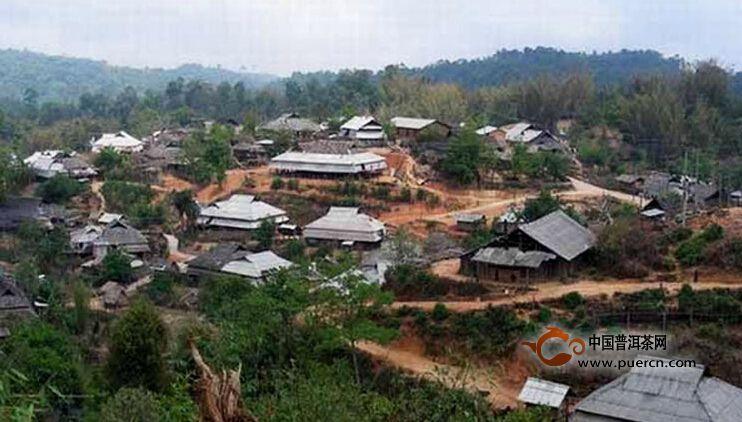 普洱茶村寨之曼松村