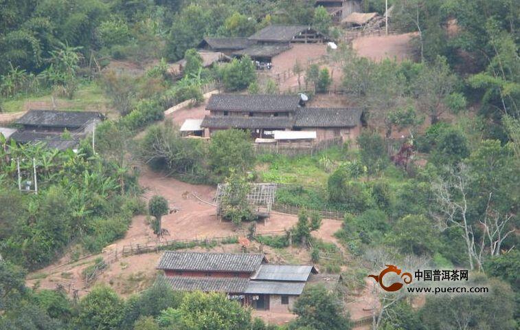 普洱茶村寨之河边队自然村