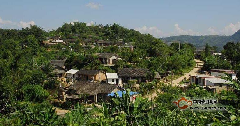 普洱茶村寨之基诺山洛特村