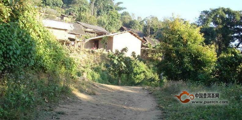 普洱茶村寨之保塘汉族寨自然村