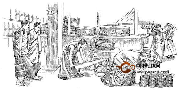 普洱茶膏文化_普洱茶