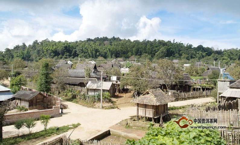 普洱茶村寨之勐宋村委会大寨村