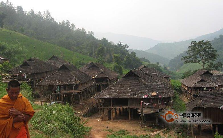 普洱茶村寨之曼班一队、二队、三队村