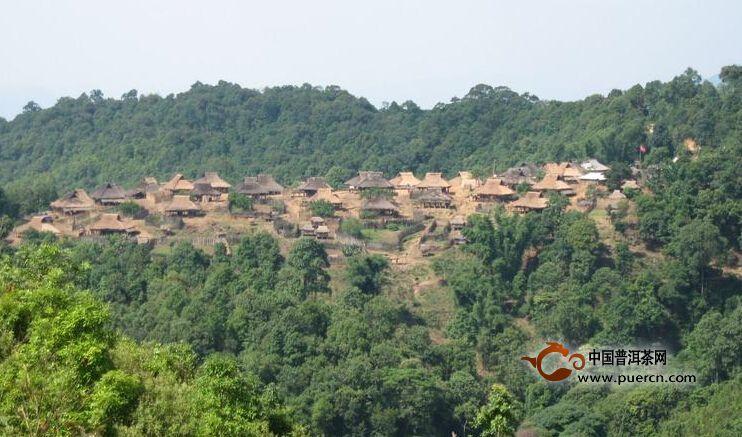普洱茶村寨之兴囡自然村