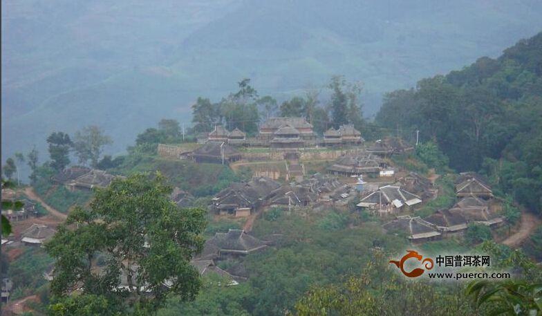 普洱茶村寨之章朗自然村