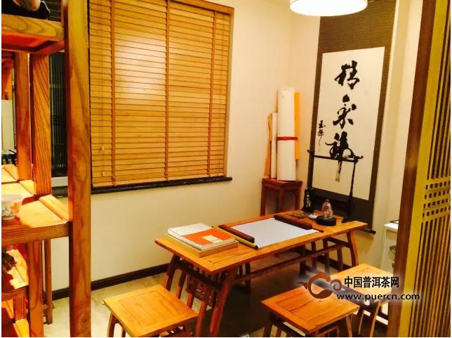 """""""龙润北京家庭茶室""""为例,为大家解读这六种空间类型:     1,书房茶室"""