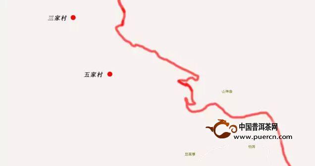 勐库西半山:名寨五家村