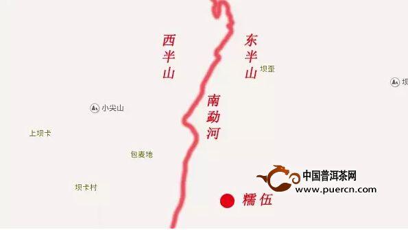 勐库华侨农场地图