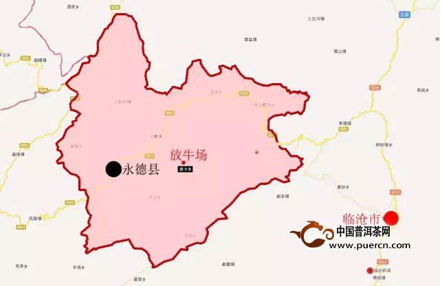 临沧风景区地图