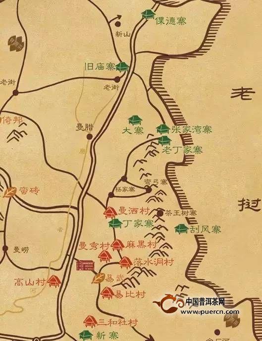 【特别推荐】深度解析古六大茶山具体位置及茶品质特点