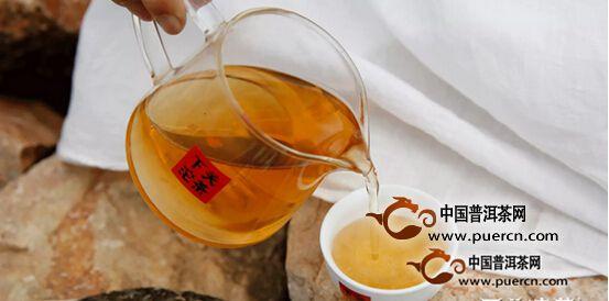 2016年下关 金印系列康藏铁饼茶汤