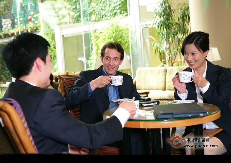 商务用茶的礼仪之道