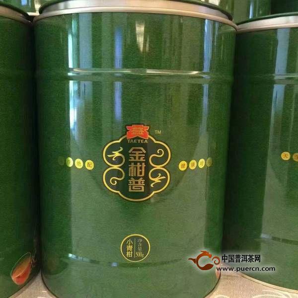 """普洱茶投资分析:大益""""金柑普"""",市场要炸"""