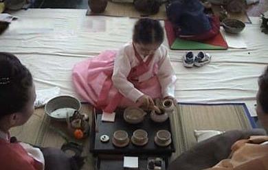 韩国茶道与茶礼